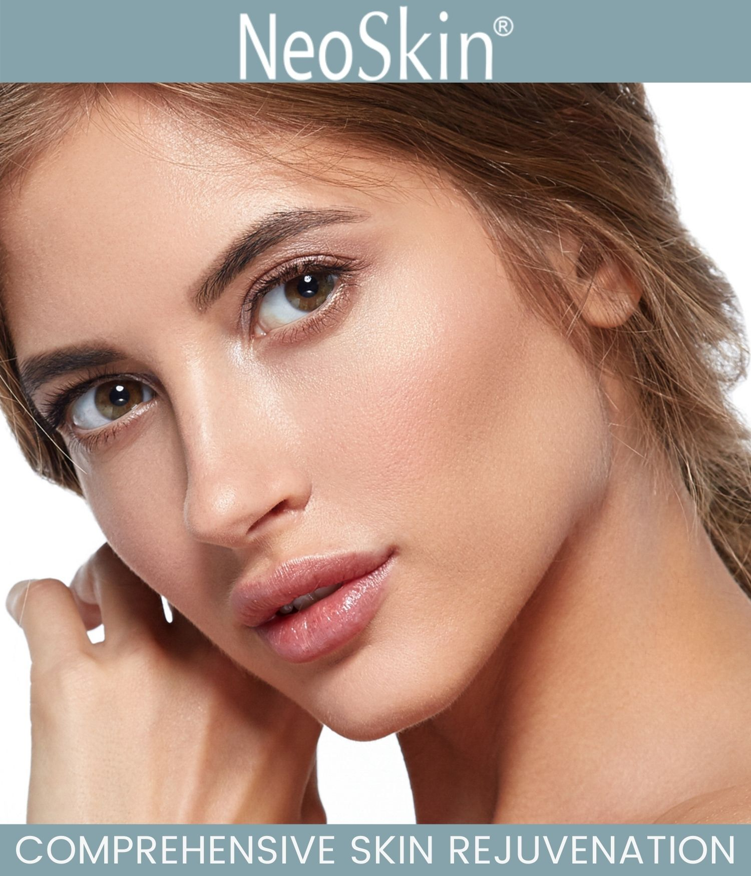Woman with rejuvenated face promoting a Neo Elite treatment in Martinsburg, WV